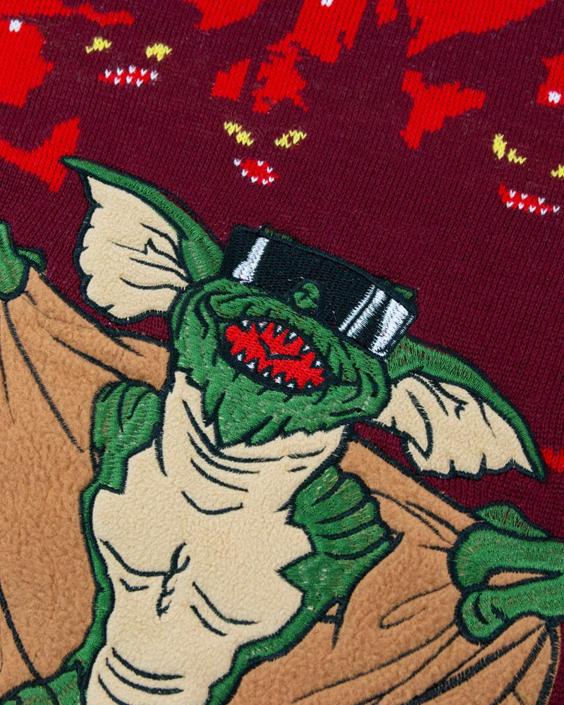 Official-Gremlins-Christmas-Jumper-Ugly-Sweater thumbnail 26