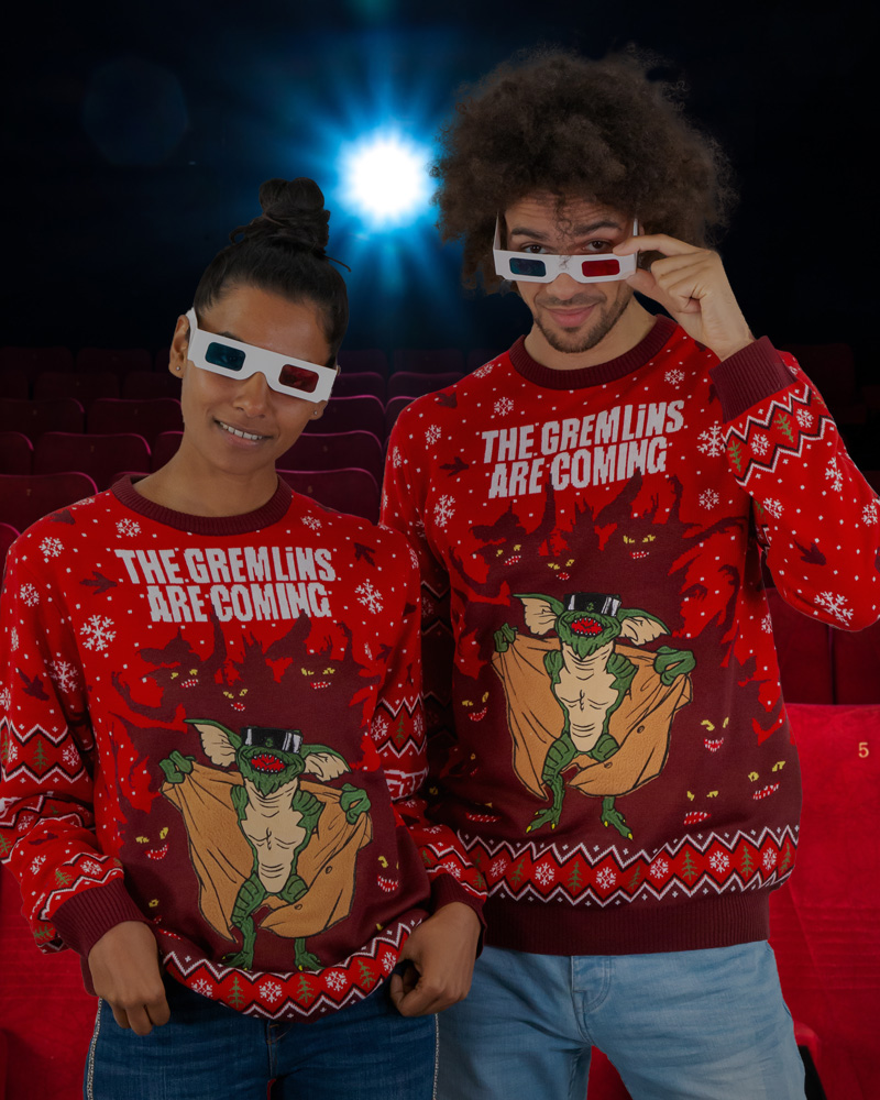 Official-Gremlins-Christmas-Jumper-Ugly-Sweater thumbnail 30
