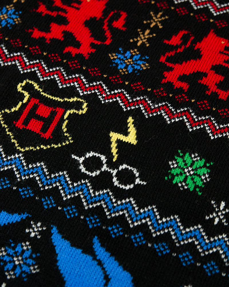 Official-Harry-Potter-Houses-Christmas-Jumper-Ugly-Sweater thumbnail 13