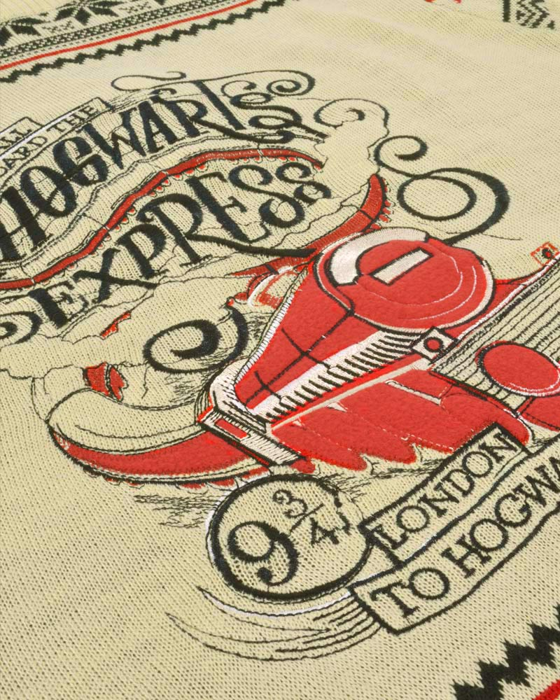 Official-Harry-Potter-Hogwarts-Express-Christmas-Jumper-Ugly-Sweater thumbnail 11