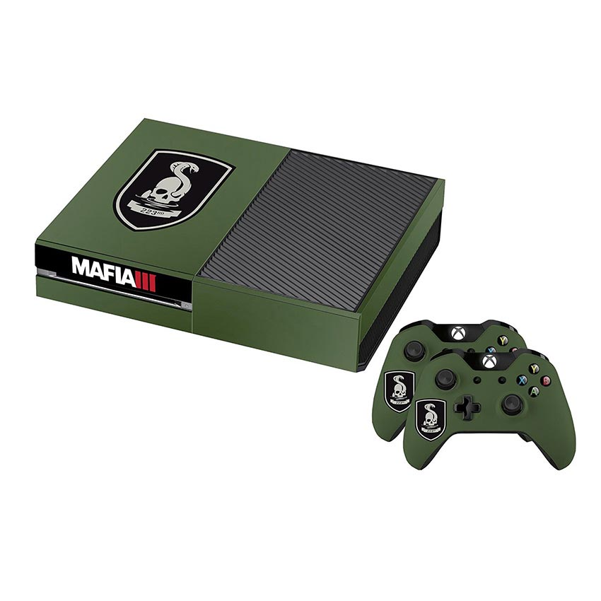 Mafia 3 Official 223rd Infantry Xbox One Console Skin