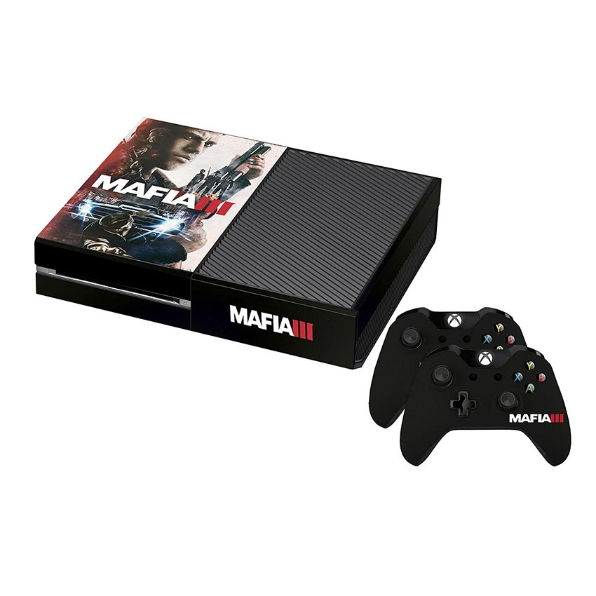 Mafia 3 Official Lincoln Xbox One Console Skin