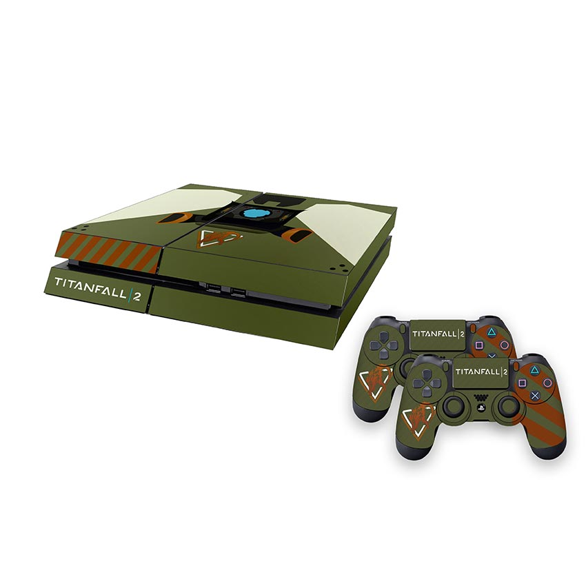 Titanfall 2 Official Marauder Corps Console Decal (ps4)