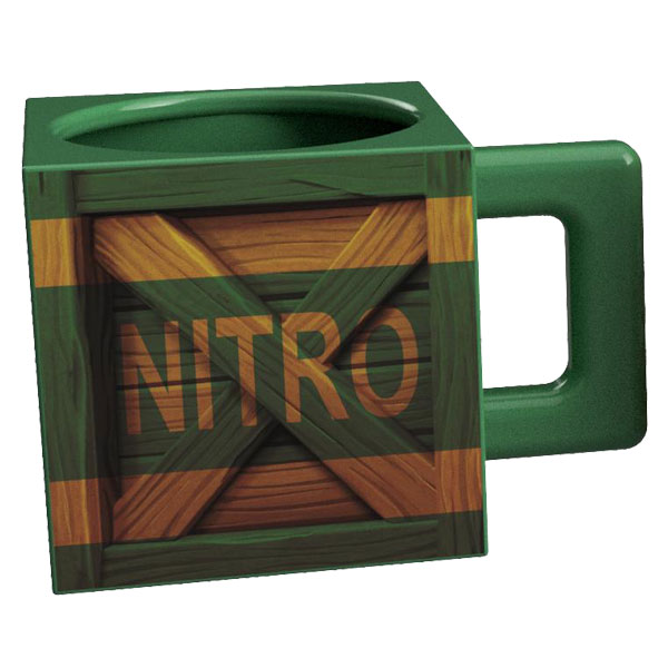 Official Crash Bandicoot Nitro Crate Mug