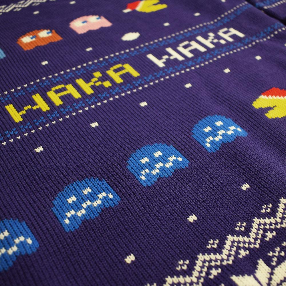 Pac-Man-Waka-Waka-Official-Unisex-Christmas-Xmas-Jumper-Sweater thumbnail 11