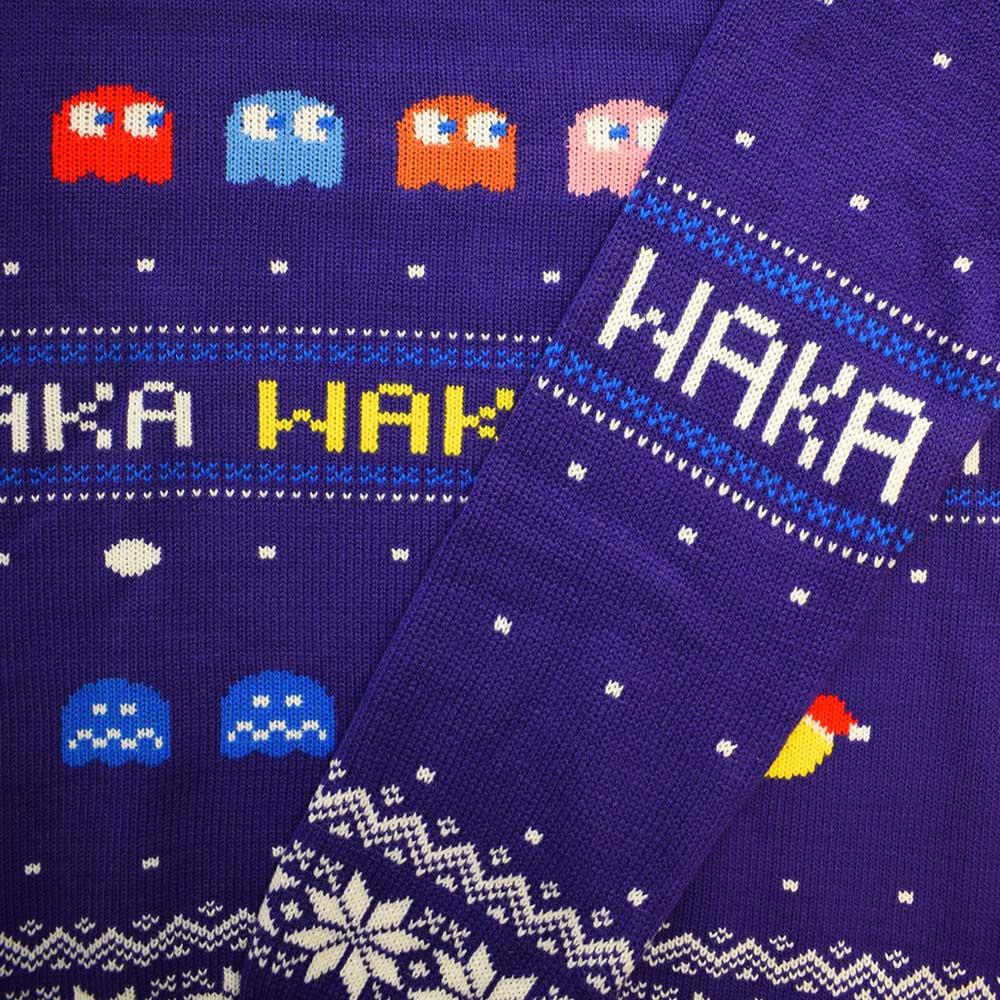 Pac-Man-Waka-Waka-Official-Unisex-Christmas-Xmas-Jumper-Sweater thumbnail 12