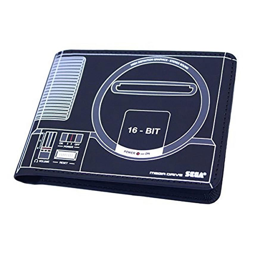Sega Mega Drive Official Console Wallet