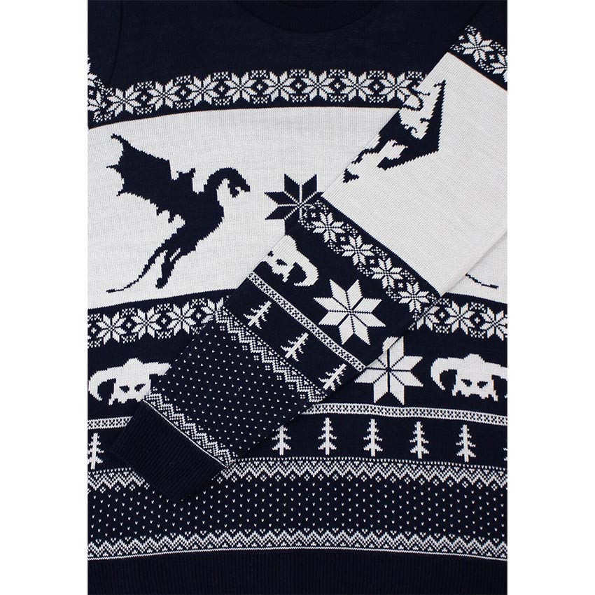 official skyrim christmas jumper sweater ebay