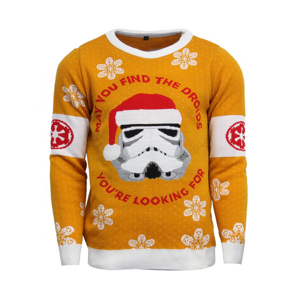 Official Star Wars Stormtrooper Christmas Jumper / Ugly Sweater - Uk L / Us M