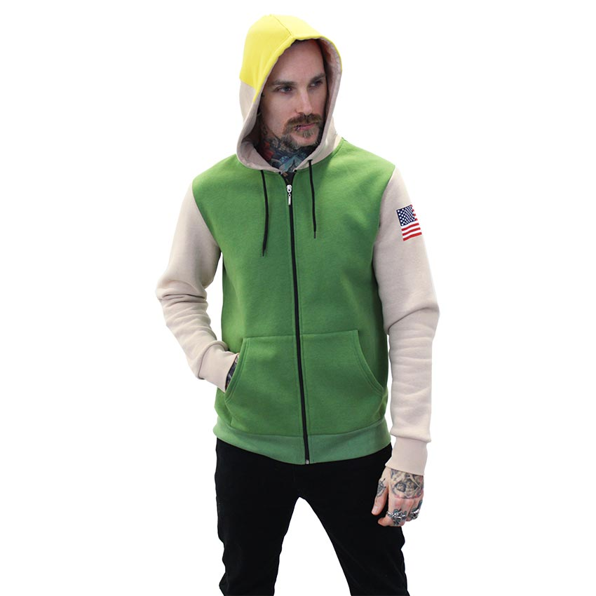 Street Fighter Official Guile Hoodie (large)