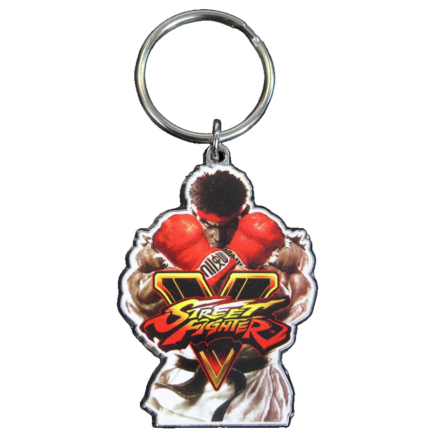 Street Fighter Ryu Official Key Ring