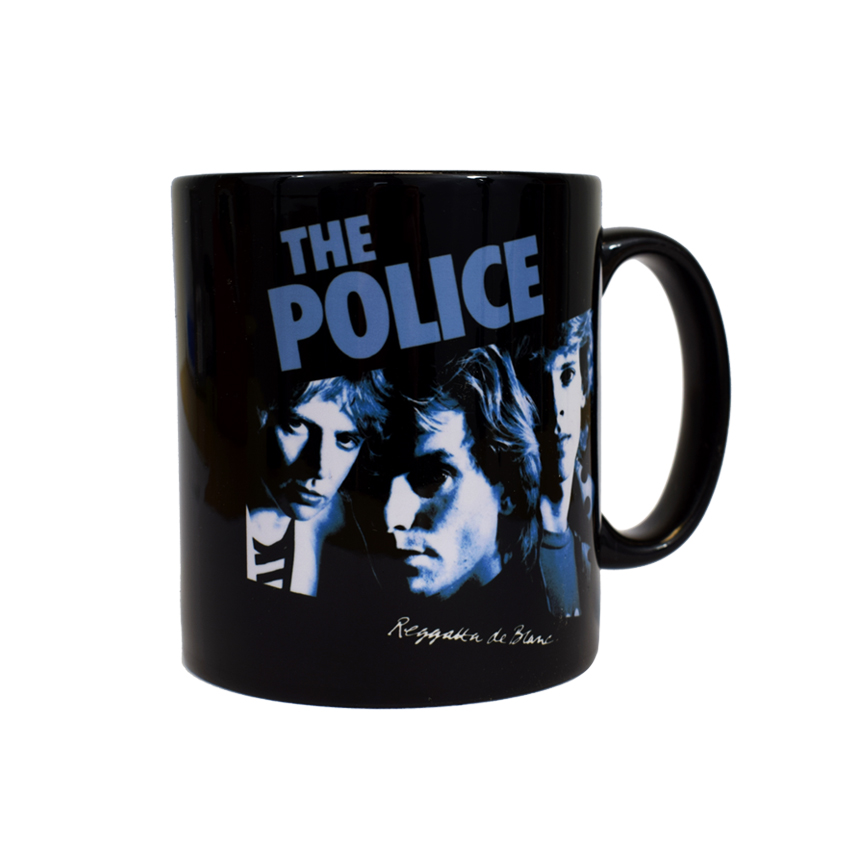 the police 39 reggatta de blanc 39 mug ebay. Black Bedroom Furniture Sets. Home Design Ideas