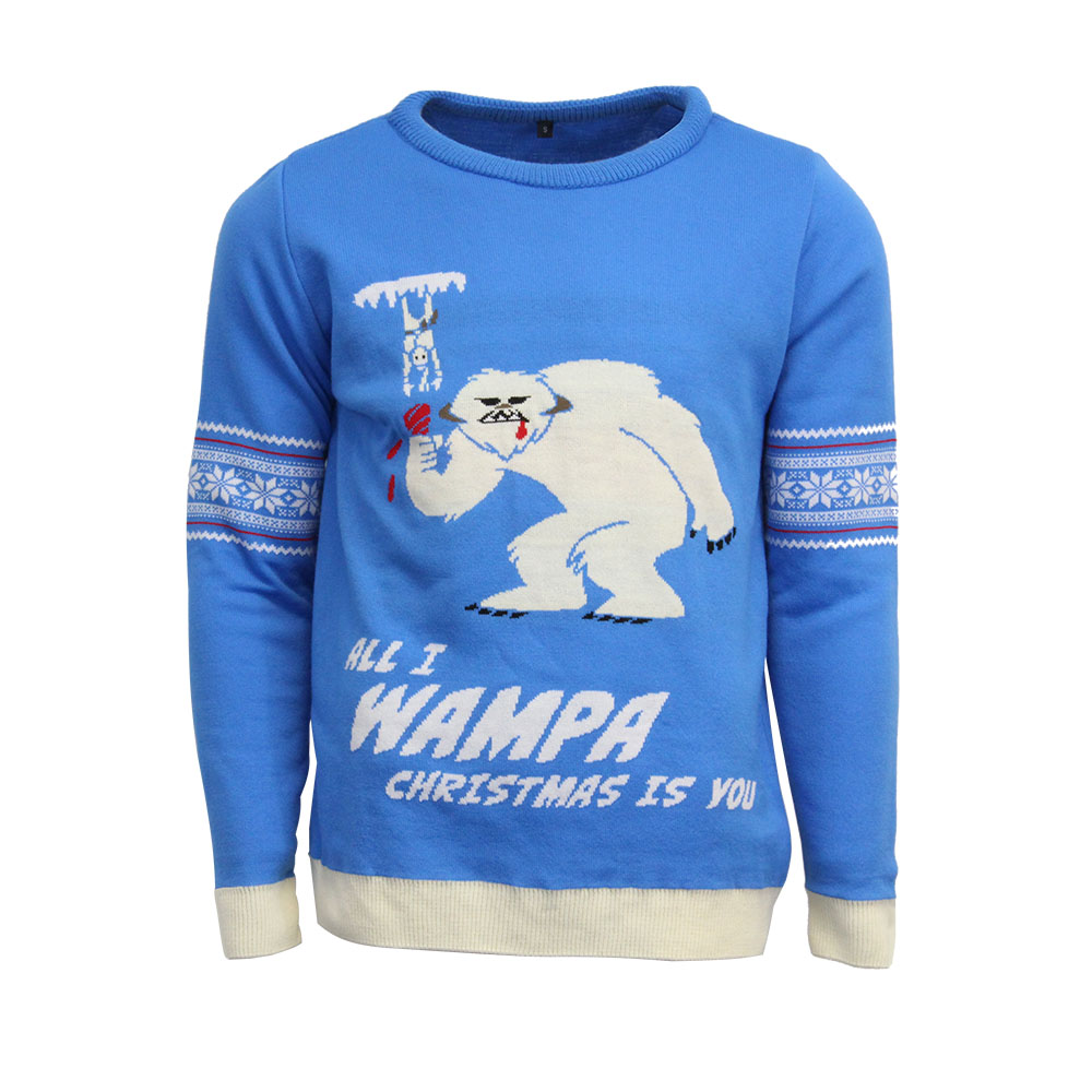 Official Star Wars Wampa Christmas Jumper / Ugly Sweater - Uk L / Us M