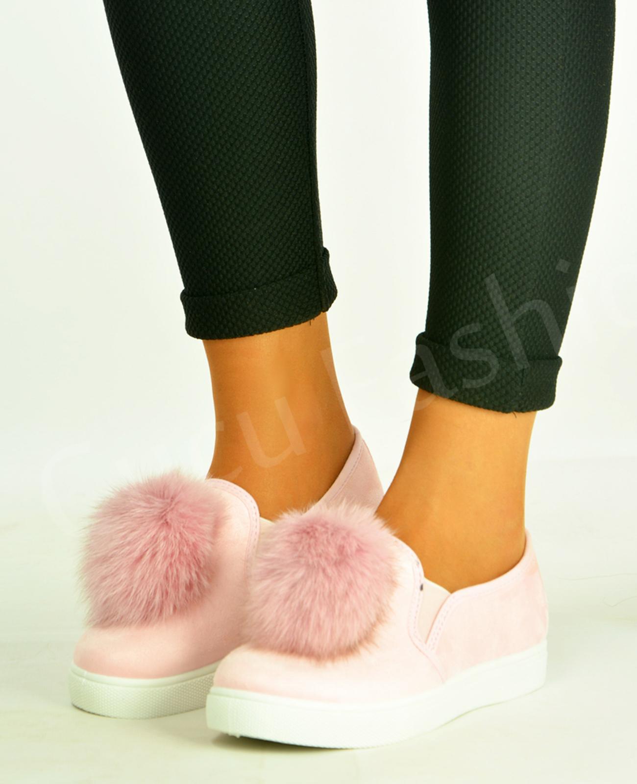 Pop Pom Flat Shoes Uk