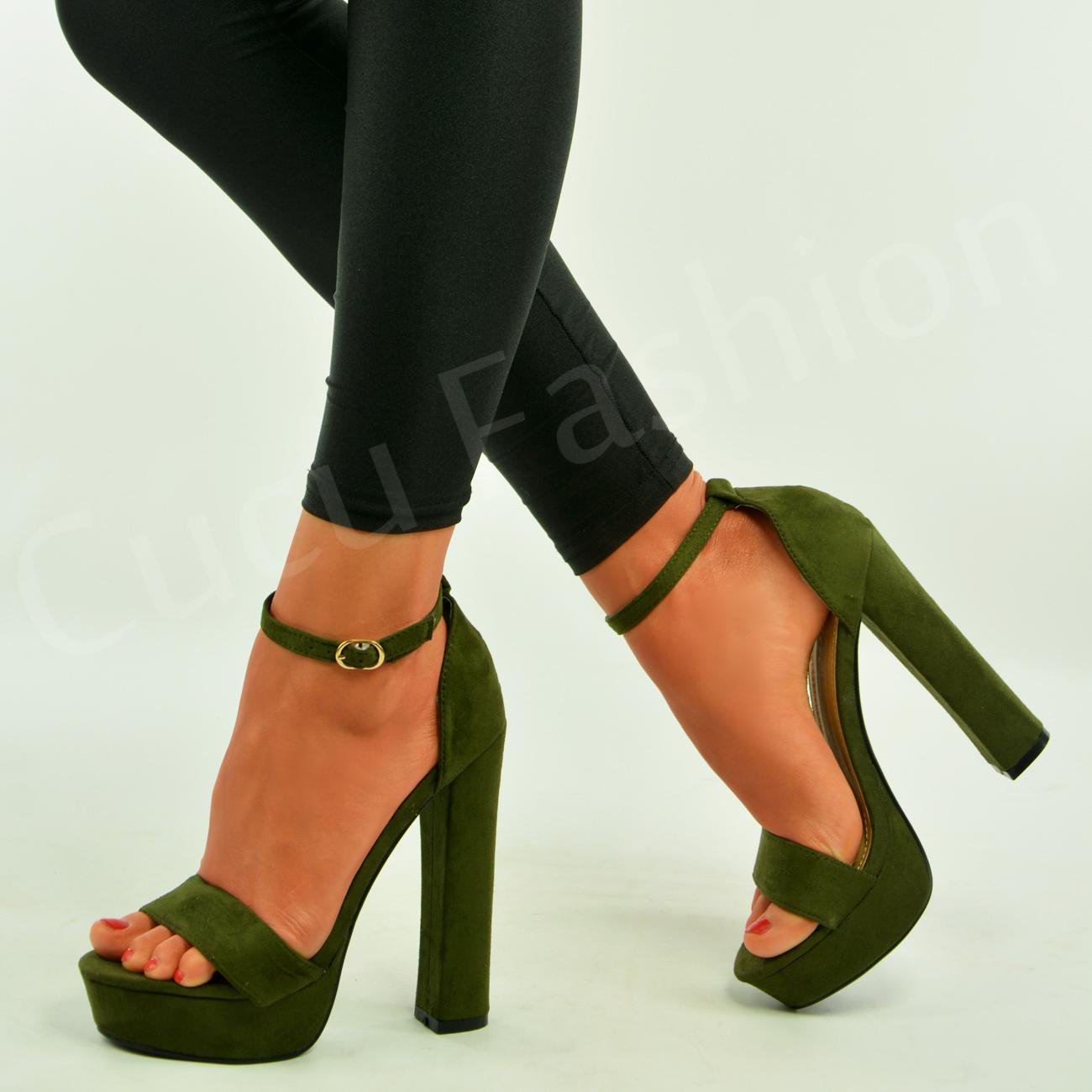 Green Heel Shoes Uk