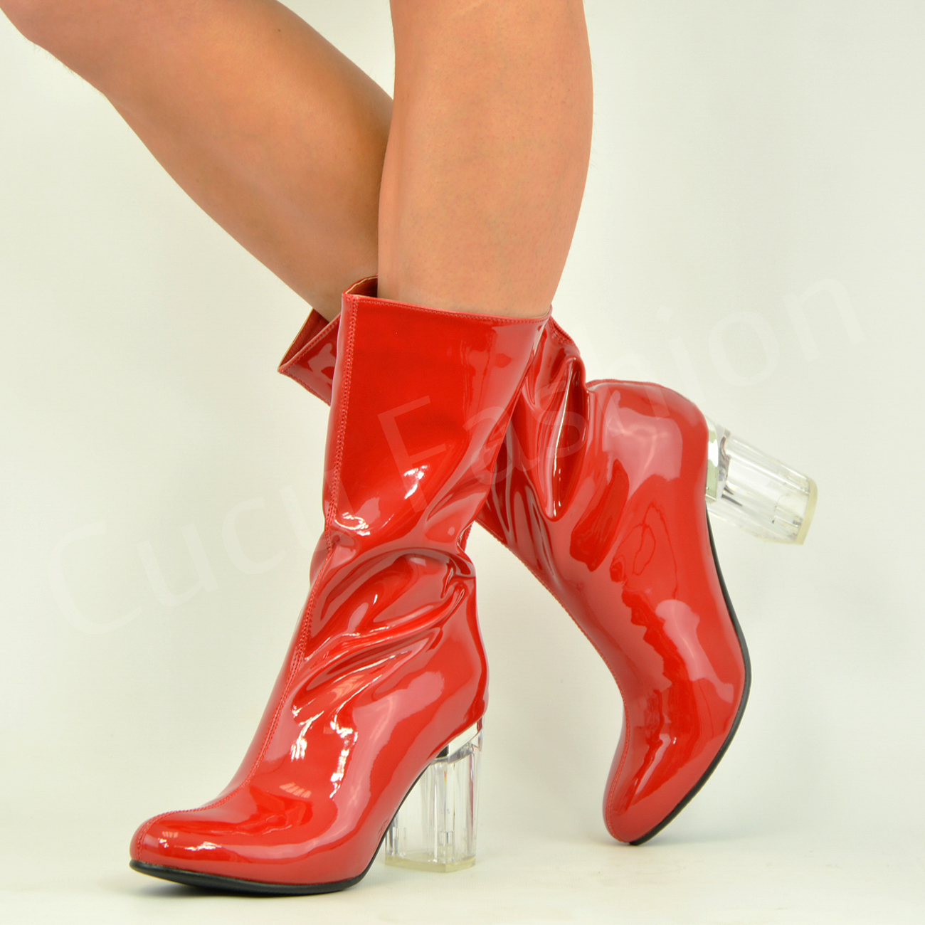 Bright Red Womens Shoes