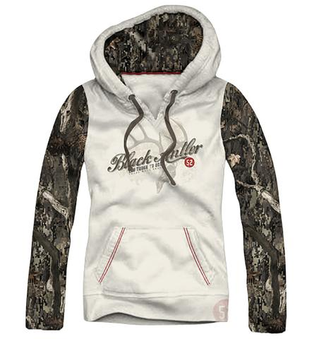 bf339ac1fcb Black Antler Ladies Hooded Sweatshirt Recon M Cream Quality Cotton ...