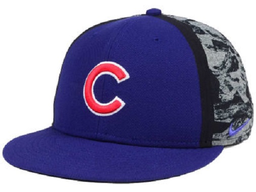 Chicago Cubs MLB Nike True Flat Bill Snapback Hat 883154003772  a27cd5f1ac66