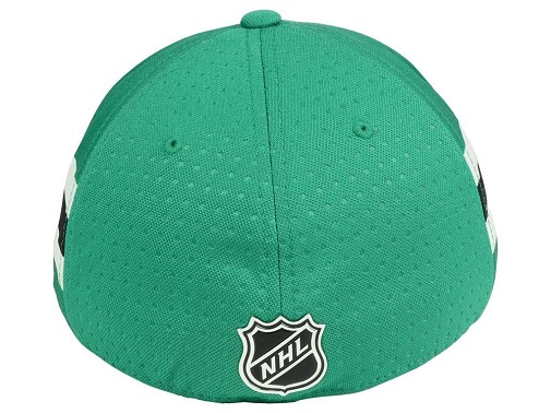 Dallas-Stars-NHL-Adidas-Draft-Stretch-Fitted-Hat thumbnail 4