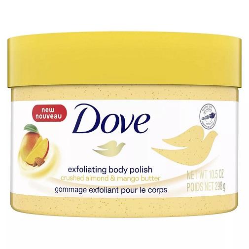 Dove Exfoliating Body Polish Crushed Almond Mango Butter 11111016958 Ebay
