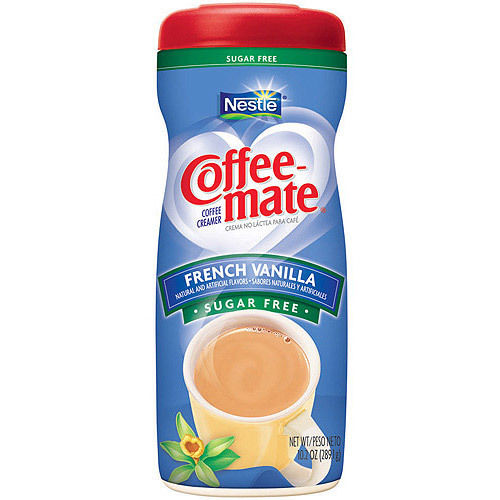 Nestle Coffee Mate Sugar Free French Vanilla Coffee ...