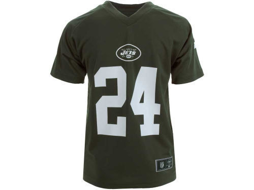 f708ce586cf New York Jets NFL Team Apparel Darrelle Revis Kids Performance ...