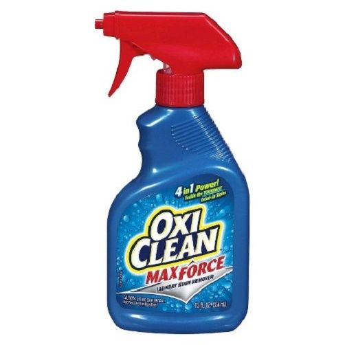 Oxi Clean Max Force Laundry Stain Remover 12 Oz Spray