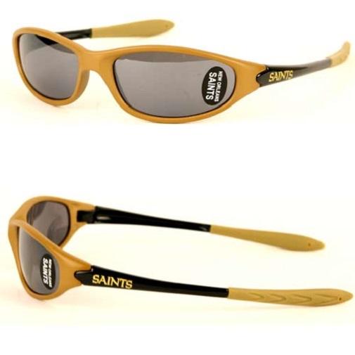 3a6e018beb24 New Orleans Saints NFL Sleek Wrap Sunglasses 754603034398 | eBay