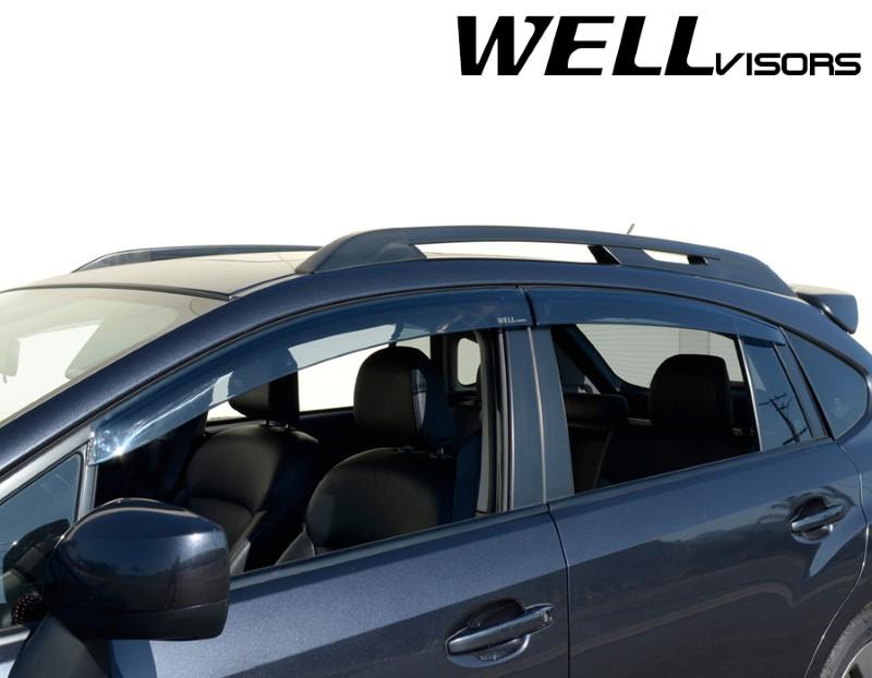 4pc Subaru Xv Crosstrek 2013 2017 Side Window Vent Visor