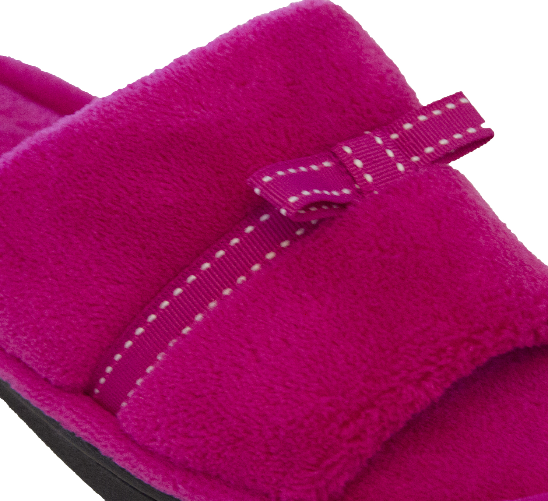 Isotoner-Women-039-s-Milly-Slide-with-Bow-Trim-Detail thumbnail 13