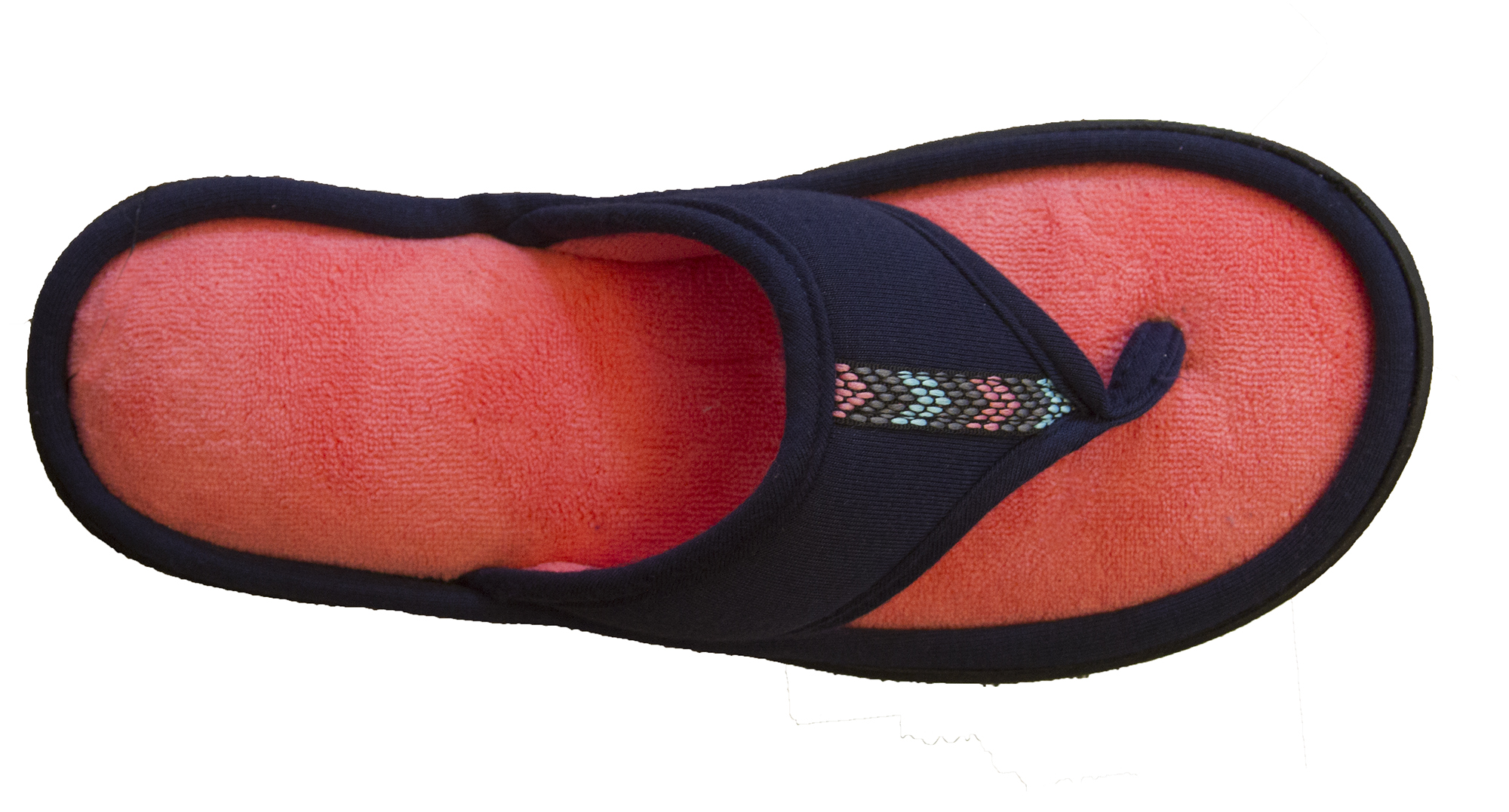 0517c68e5c25 Isotoner Women s Microterry Jersey Luna Thong Slipper