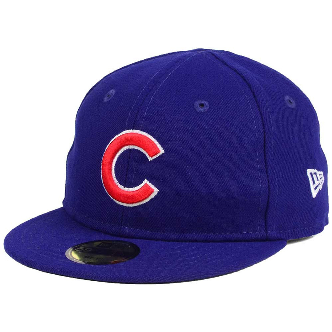 New Era 5950 My First Chicago Cubs GAME Fitted Hat (Royal Blue ... 39aa0719526