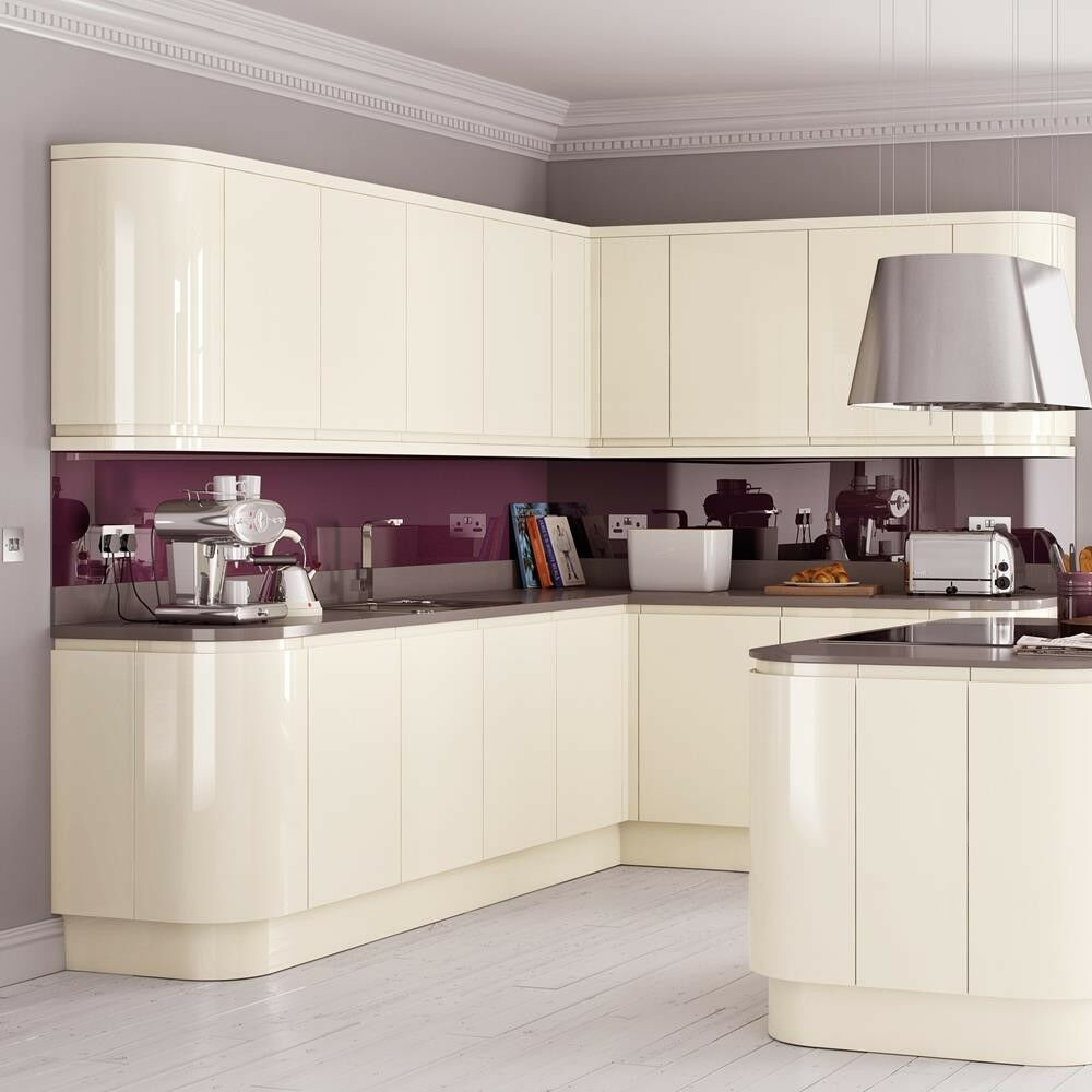 Kitchen Base Unit Cabinet Soft Close Handleless GLOSS ...