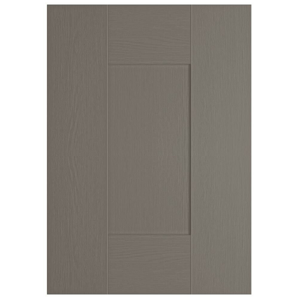 Premium Kitchen Cabinet Unit Doors Drawers Woodgrain Foil Shaker