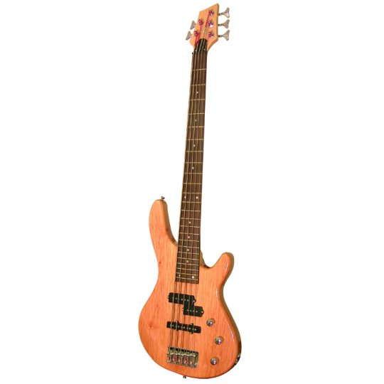Kona Guitars KE5BN 5-String Electric Bass Guitar with Split Pickup ...
