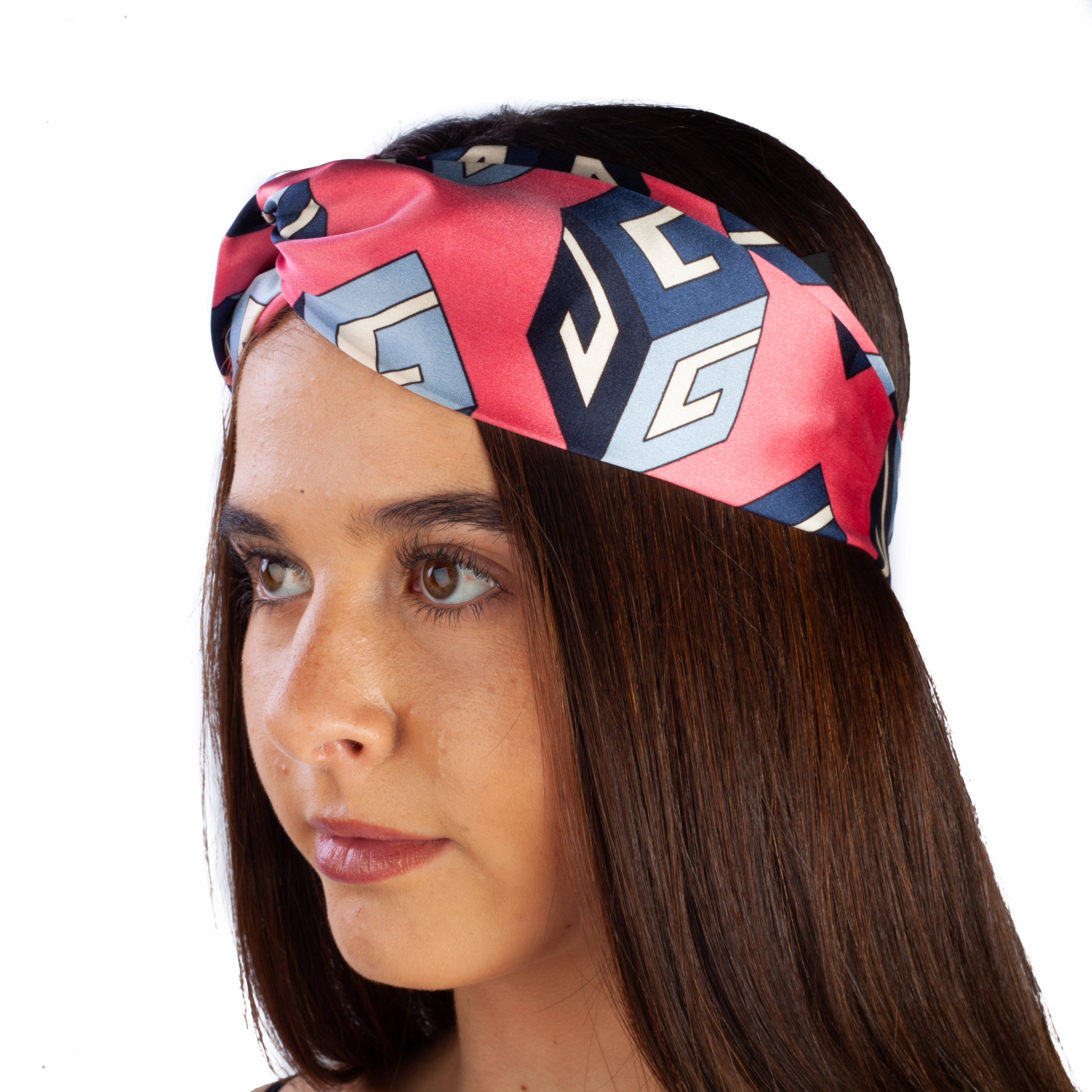 Gucci Women s Silk Geometric Pattern Headband 827886164738  cc9746f2b4b