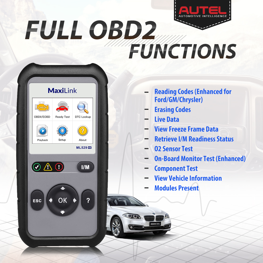 Autel Maxisys MS908 Automotive Reprogramming Diagnostic Tool and