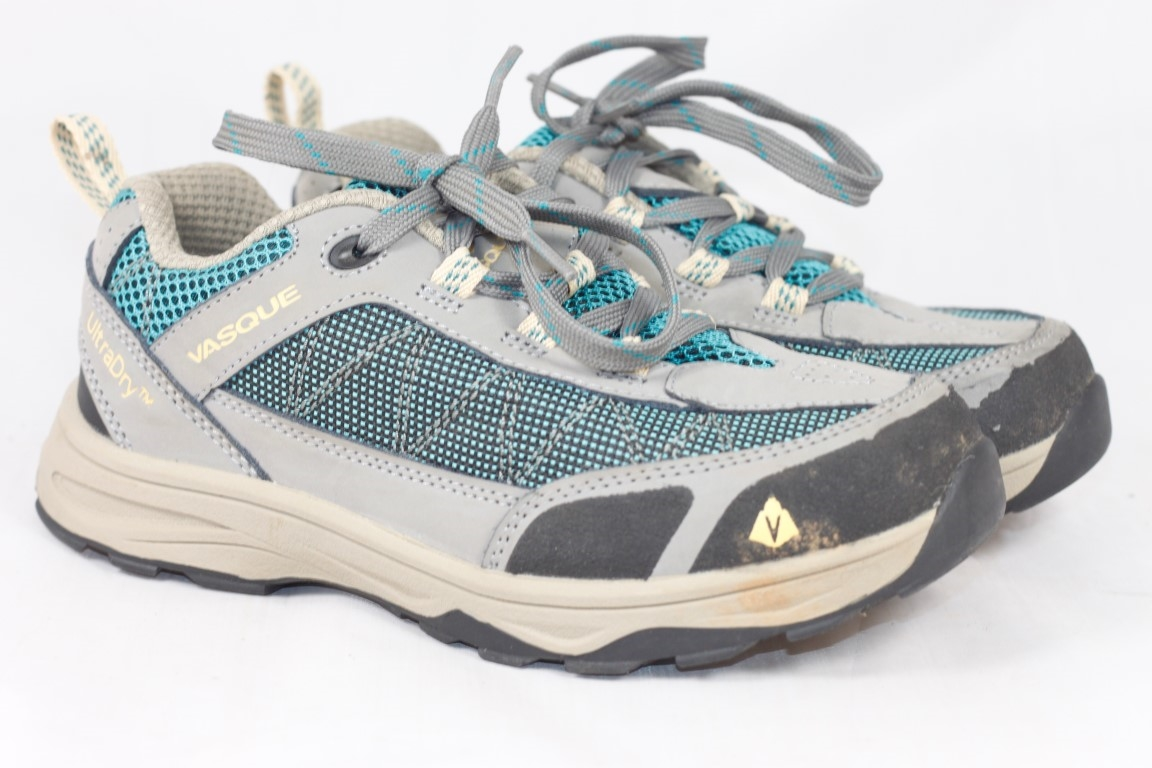 Vasque Kids' Monolith Low UltraDry Hiking Shoes UK 2 / EU 34 / 9531