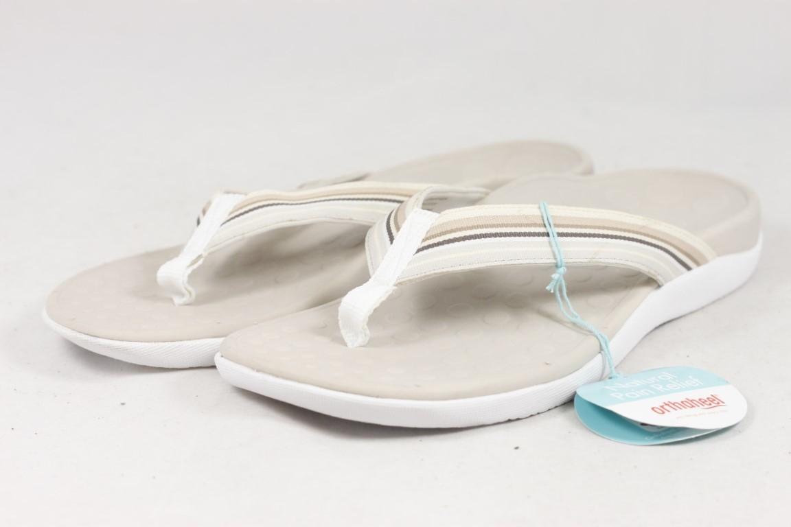 4d40bd2b1aa0 Vionic with Orthaheel Women s Island Beige Sandals