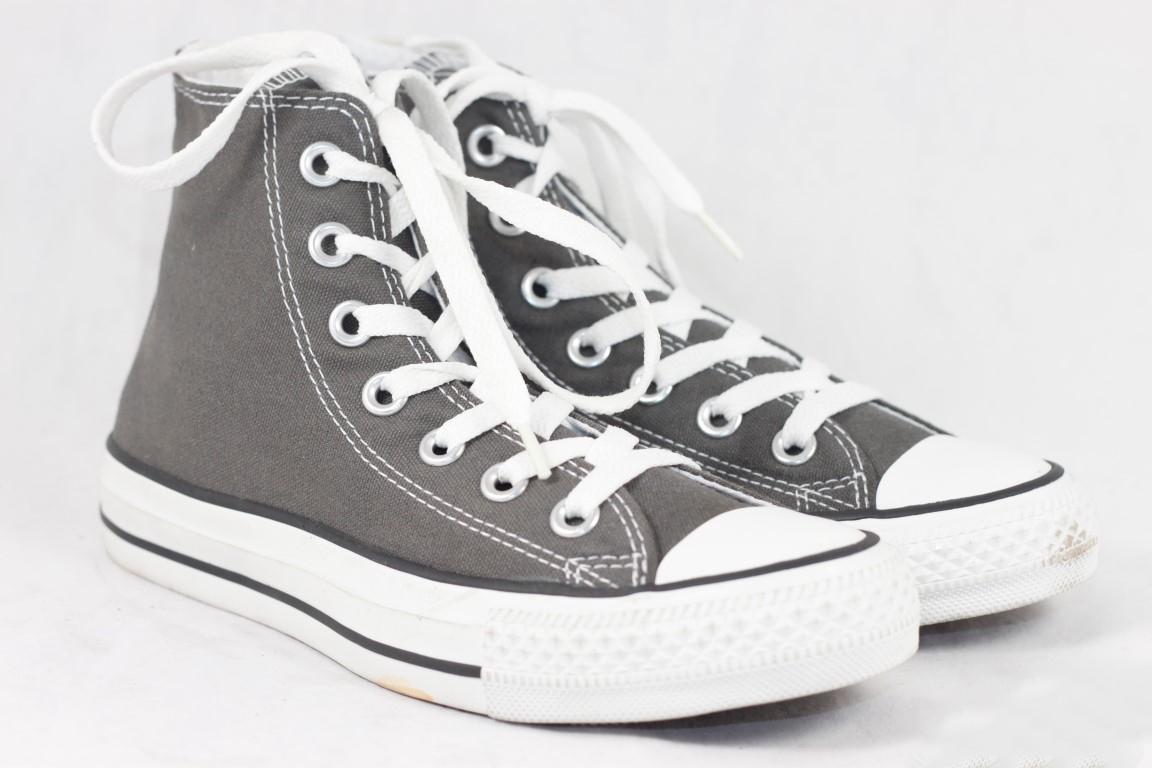 1df231a3685b0c Converse All Star Chuck Taylor 1J793 Unisex Charcoal Hi Top Sneaker ...