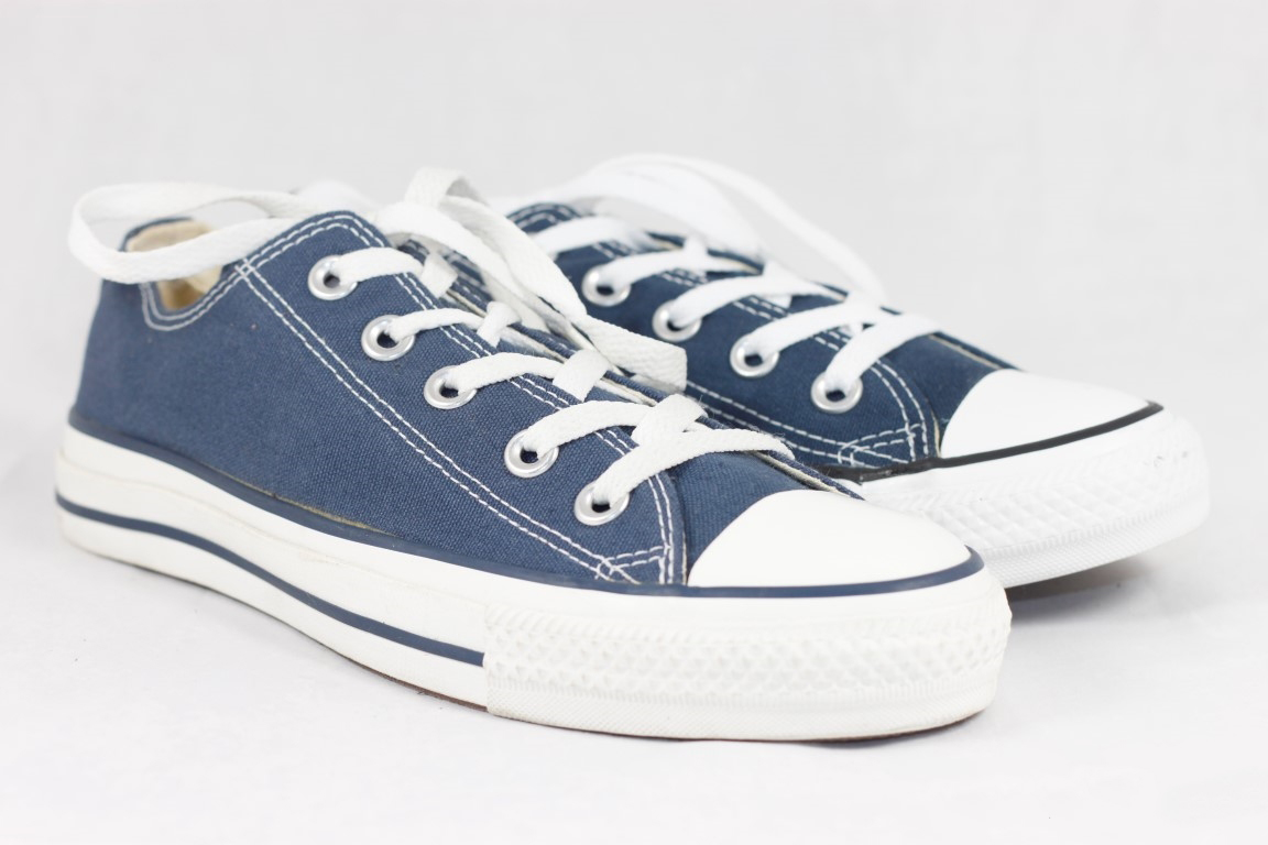 bb78eca06c52 Converse Chuck Taylor All Star M9697 Unisex Navy Low Top Sneaker