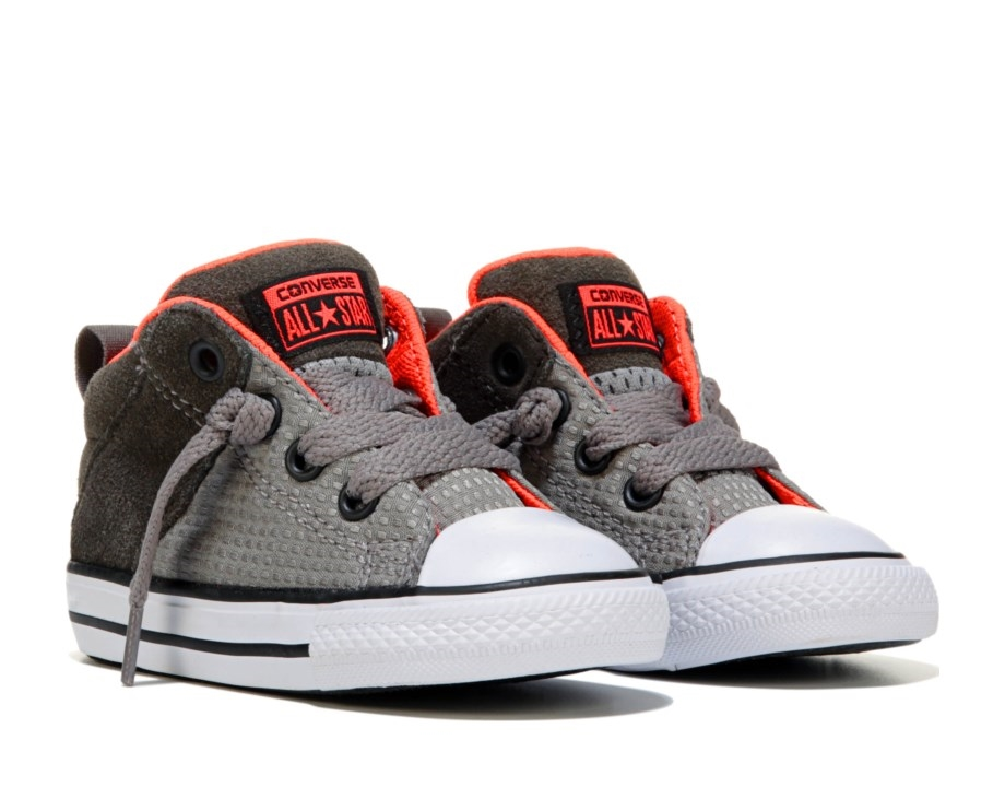 2e115ac5bd6b5b Converse All Star Axel Mid Cadet Grey Kids Sneakers