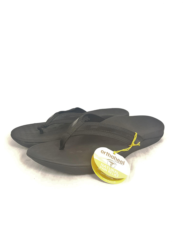 bb776caa3696 Women s Vionic with Orthaheel Black Tide Sandals UK 9   EU 42   US ...