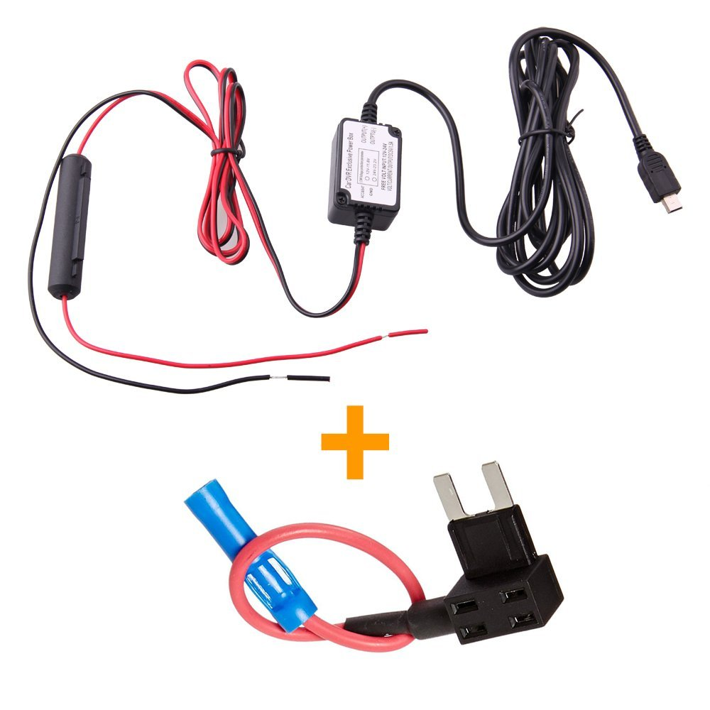 Hardwire Car Fuse Box : Spytec microhwfuse dash cam hardwire fuse kit with micro