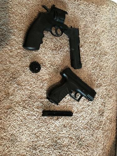1984-Crosman-781-Bb-Pellet-Gun-Air-Rifle-Ad-Father-And-Son-W-Beagle thumbnail 2