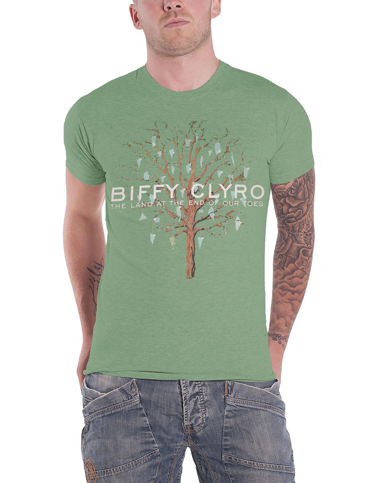 Biffy Clyro T Shirt Ellipsis Band Logo Tour Opposites