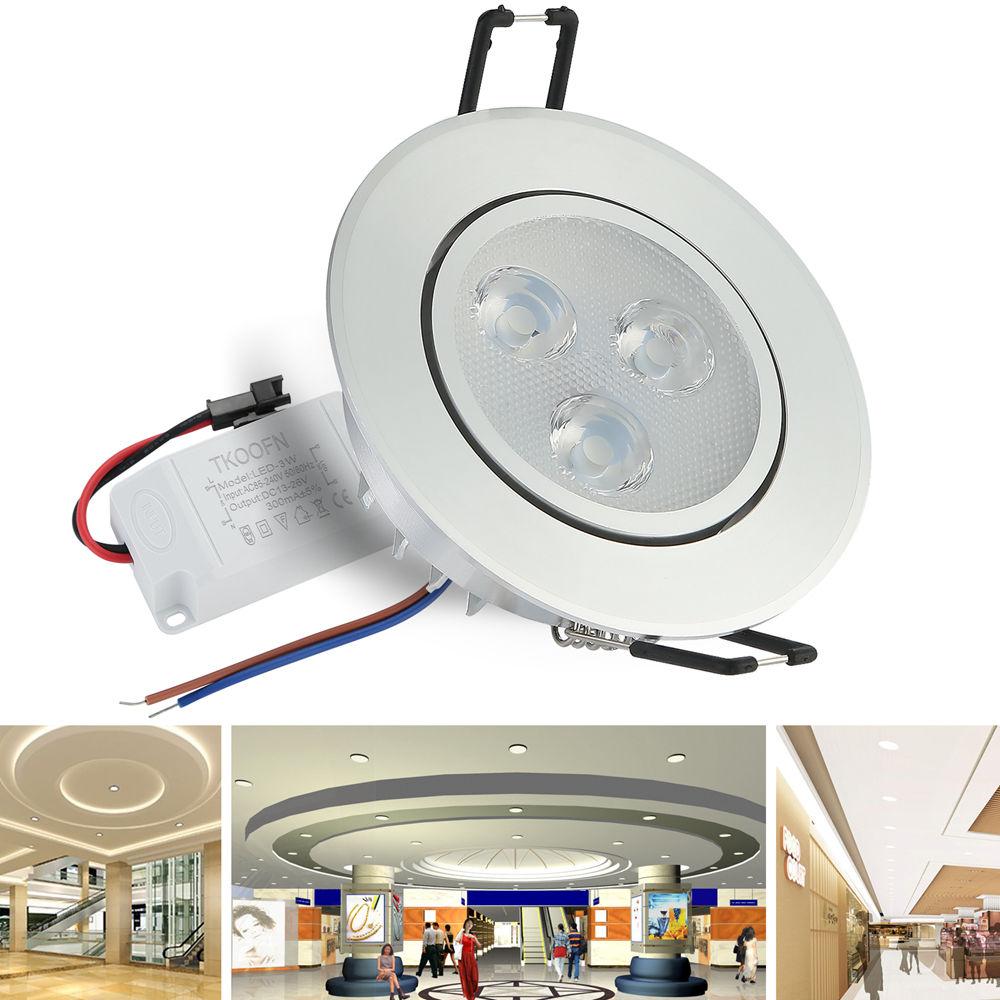 Us stock lot 612x 3w7w12w led downlight ceiling recessed light us stock lot 6 12x 3w 7w 12w aloadofball Gallery