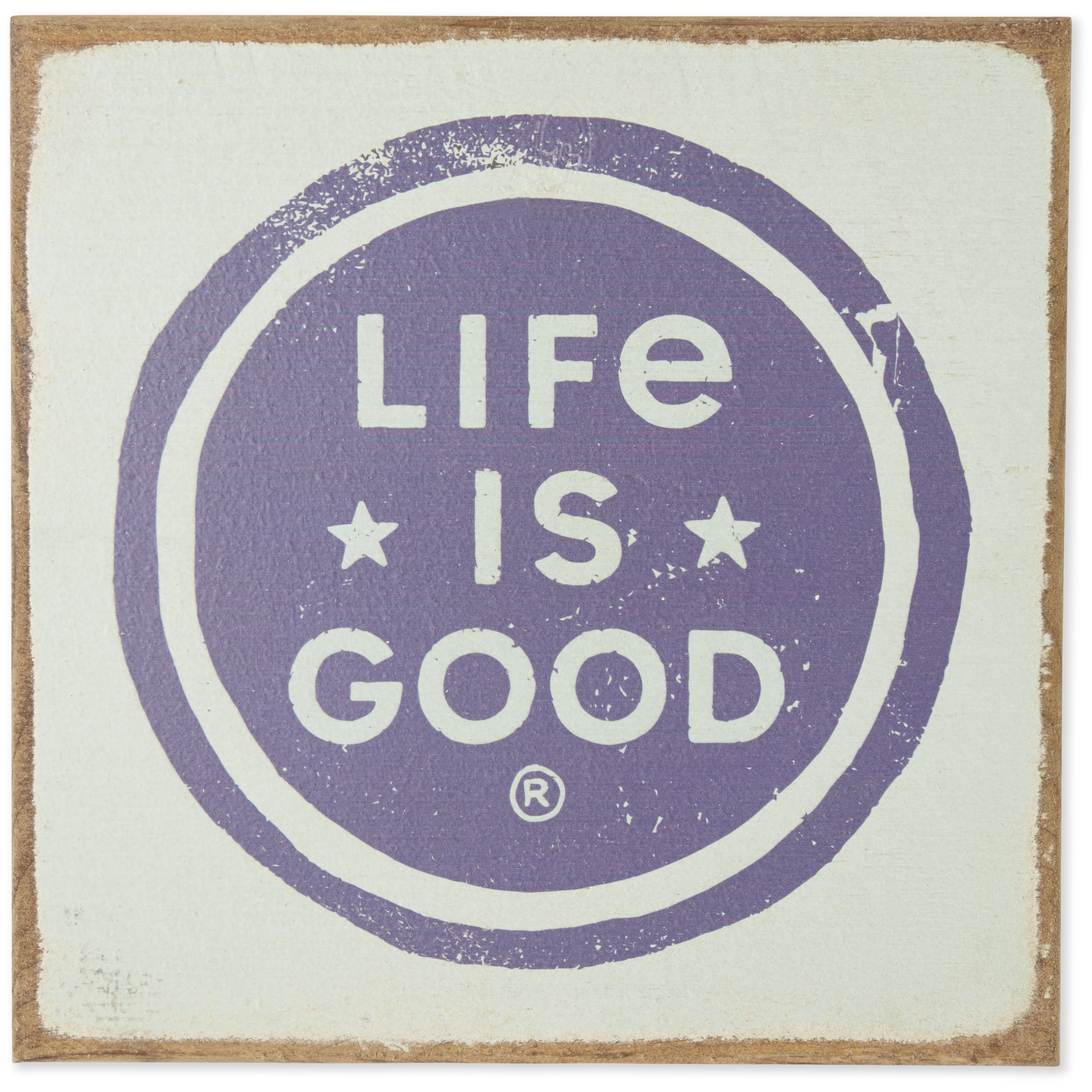 Life is Good Unisex Large Wooden S Kind People Bdablu