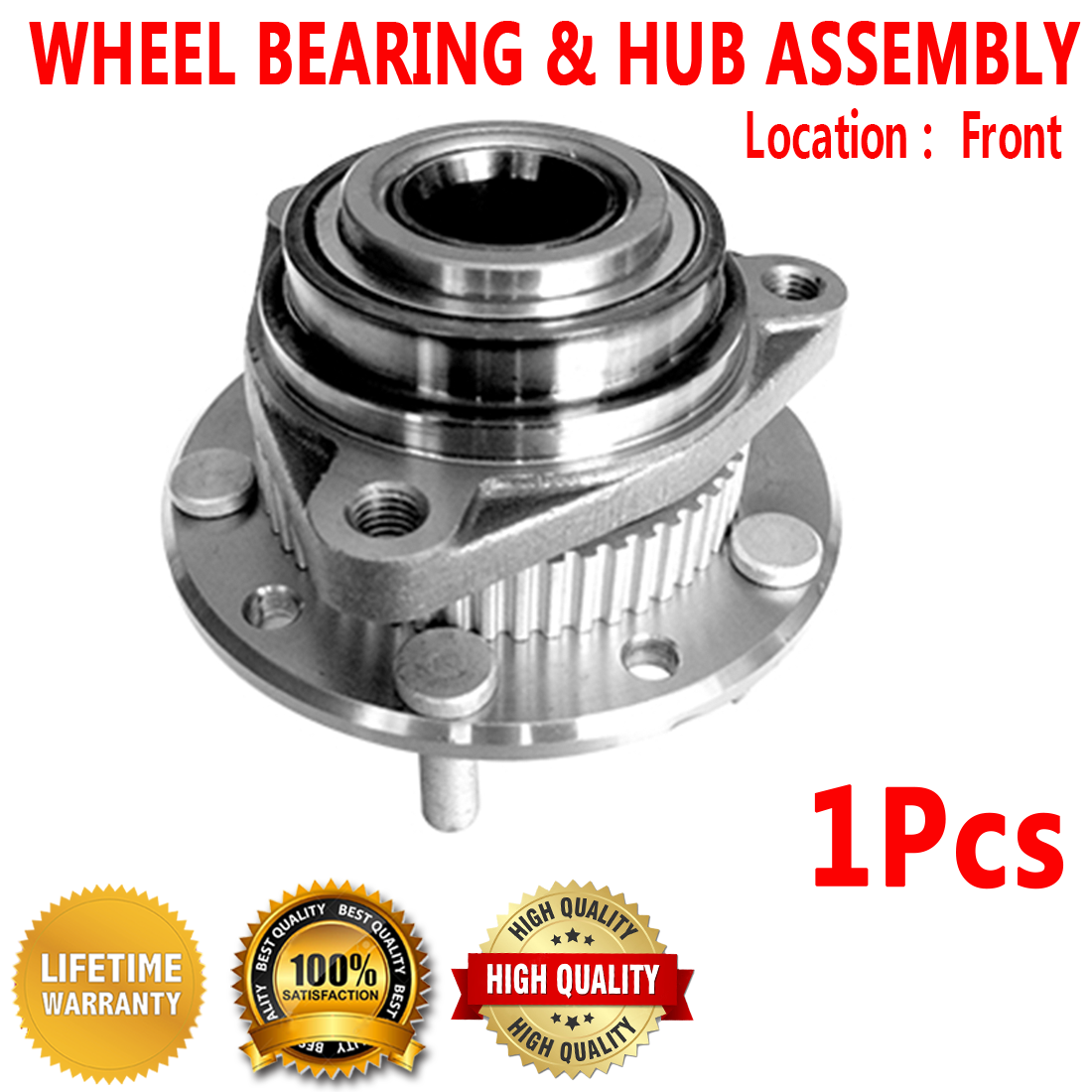 Details about FRONT Wheel Hub Bearing Assembly for CHEVROLET S10 BLAZER 4WD