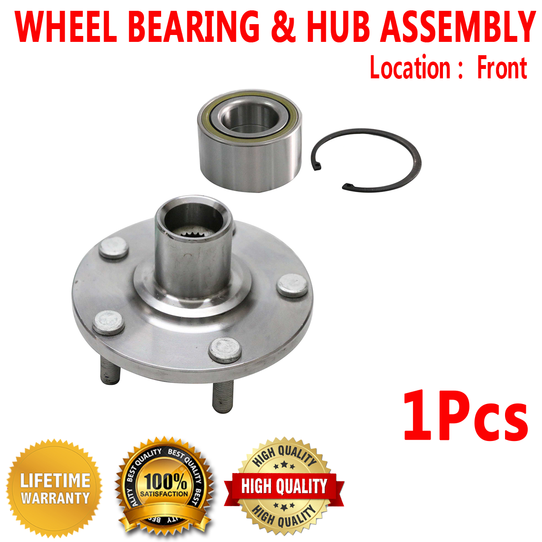 1999 fits Lexus RX300 Front Wheel Bearing Note: AWD, FWD - Two Bearings Included with Two Years Warranty Left and Right